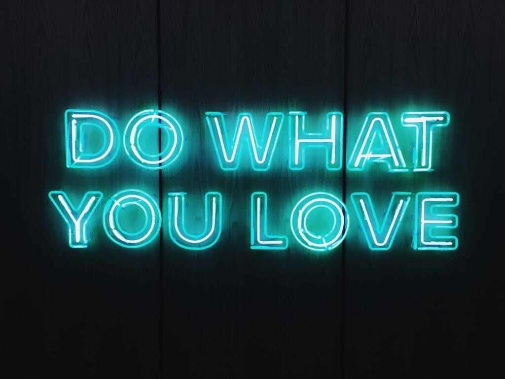 do what you love apply to work flexibly